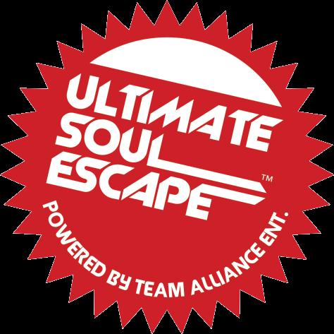Sticker design for selfie stick premiums ultimate soul escape music event