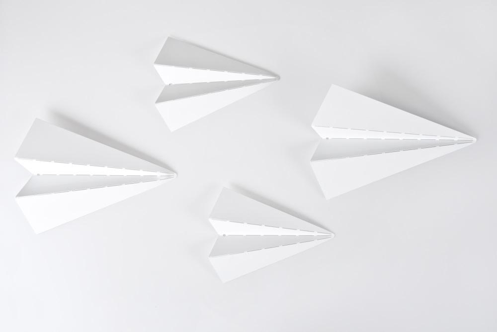 Metal Origami Planes Cors